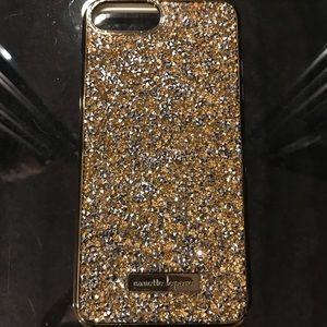 Accessories - Gold iPhone 7 Plus case